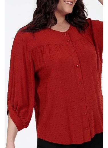 Vitrin XL Bluz Kiremit
